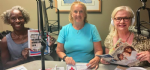 Regina and Kathleen on the radio